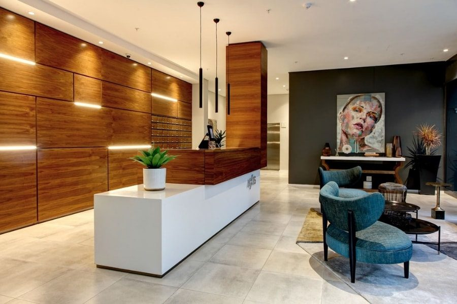 Apartment Block Concierge and Lobby